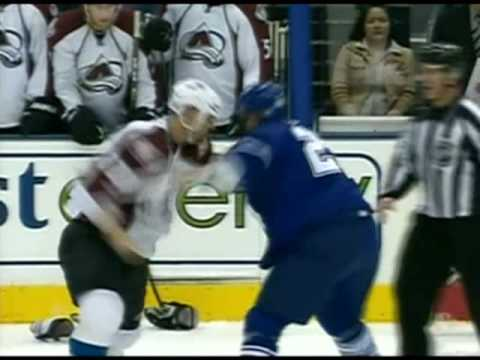 Colton Orr vs. David Koci