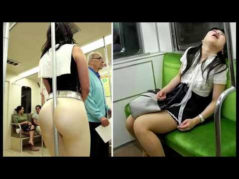 Strange, bizarre and Weirdest People You Will Only See on the SUBWAY