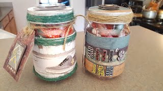 🔴LIVE Masculine Gift - Dollar Tree Mason Jar & Chit Chat