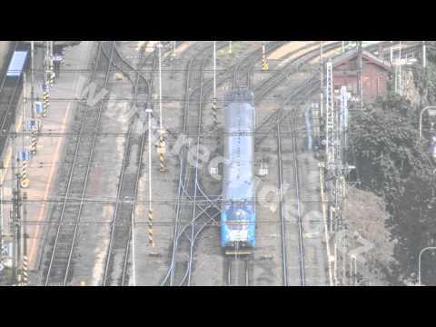 ČR - Brno - vlaky - koleje