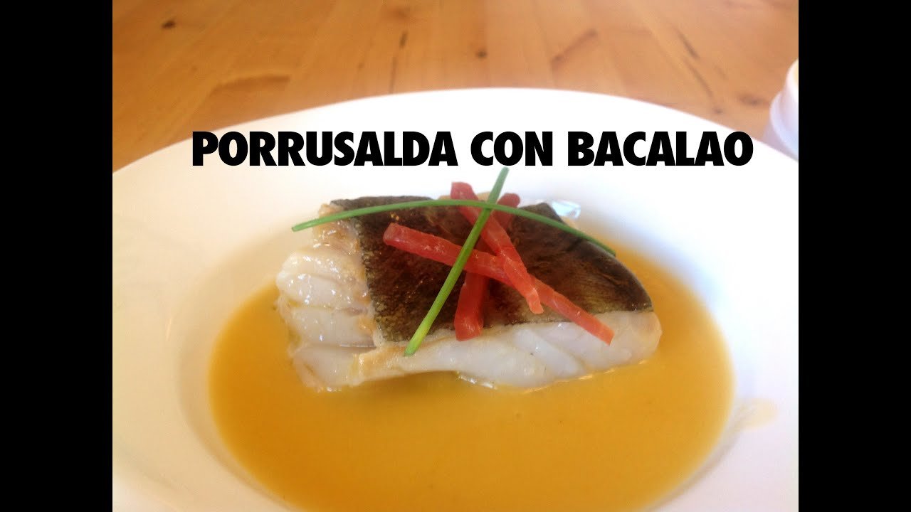 PORRUSALDA DE BACALAO