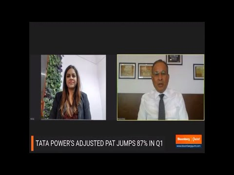 Dr. Praveer Sinha, MD & CEO, Tata Power discusses Tata Power Q1 FY'22 results with Bloomberg Quint