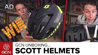 Unboxing The Scott Cadence Plus & Centric Plus Helmets