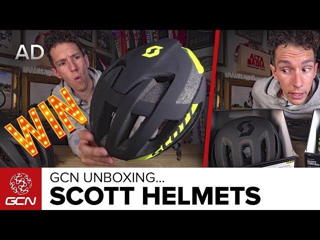 Видео Шлем Scott Centric Plus белый