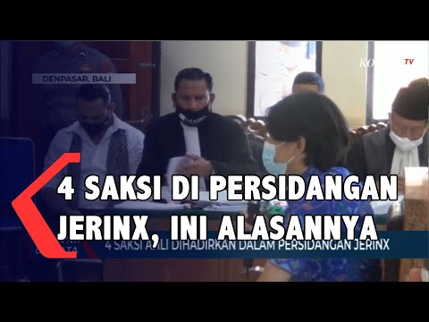 saksi ahli dihadirkan dalam persidangan jerinx