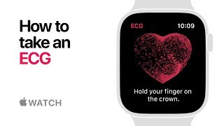 Apple Watch Series 4 — How to take an ECG — Apple