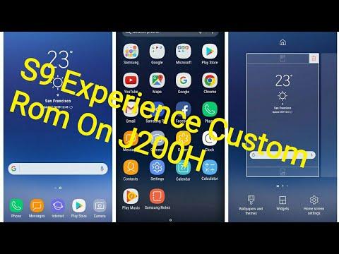 S9 Experience Custom Rom On Galaxy J200H - Mohammed Foysal Official