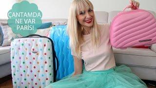 Çantamda Ne Var: Paris Valiz Hazırlama   Sebi Bebi