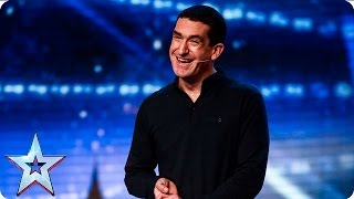 Can Darren Altman make a good impression? | Week 1 Auditions | Britain's Got Talent 2016