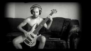 Aborted - The Inertia (bass cover)