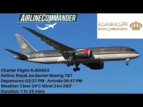 Download The Royal Jordanian 787 Dreamliner Video 3GP Mp4 FLV HD Mp3