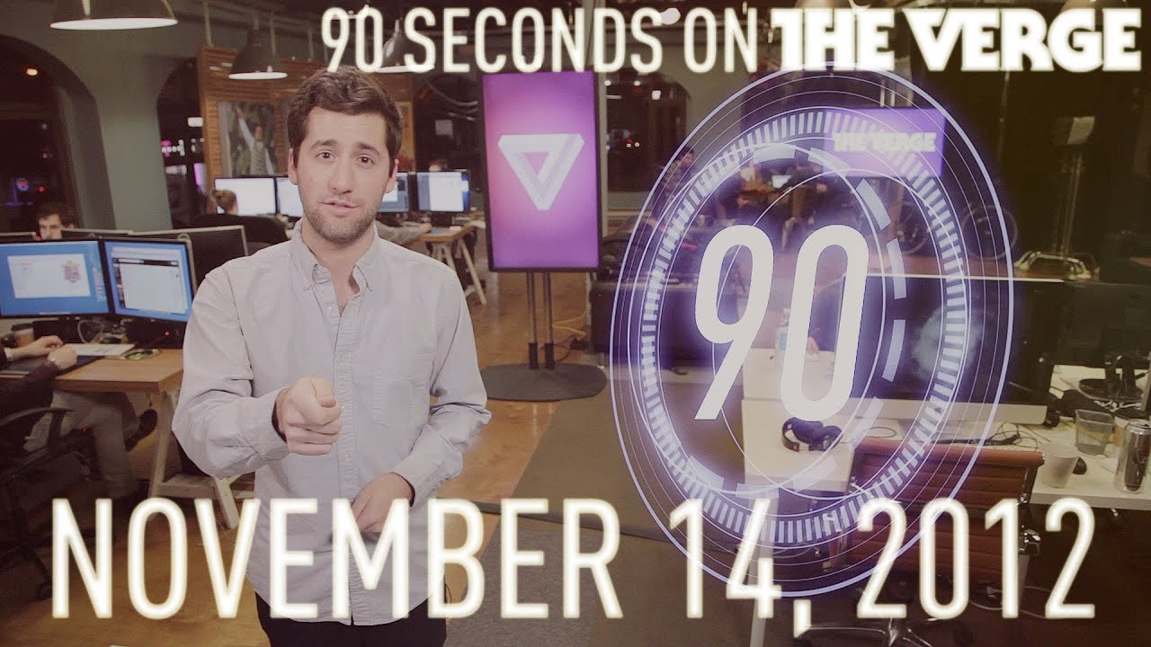 Grand Theft Auto V, Google Fiber, and more - 90 Seconds on The Verge: Wednesday, November 14, 2012 thumbnail