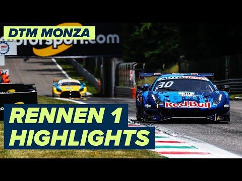 DTM モンツァ(イタリア) RENNEN1のハイライト動画