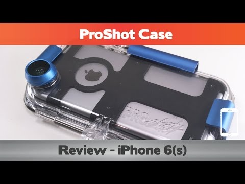 ProShot Case Review – The BEST case for swimming/snorkelling/scuba – Waterproof iPhone 6s cases