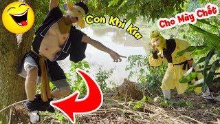 XEM LÀ CƯỜI - con khỉ tôn ngộ không nghịch ngu troll lầy lội trư bát giới phần1