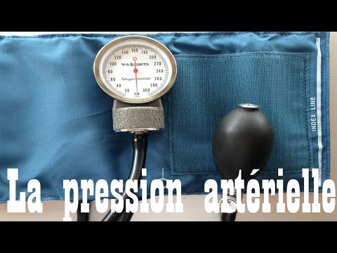 Taux de pression sanguine de lhypotension hypertension