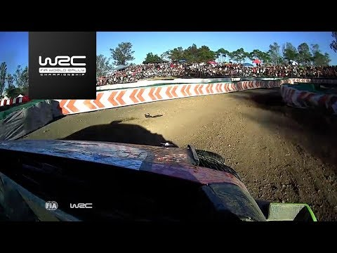 WRC - Rally Guanajuato México 2018: ONBOARD Loeb SS17