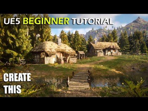 Unreal Engine 5 Beginner Tutorial - UE5 Starter Course! - YouTube