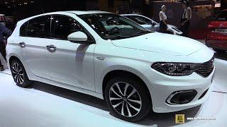 2017 Fiat Tipo 5 Door 1.6 Diesel - Exterior And Interior Walkaround - 2016 Paris Motor Show