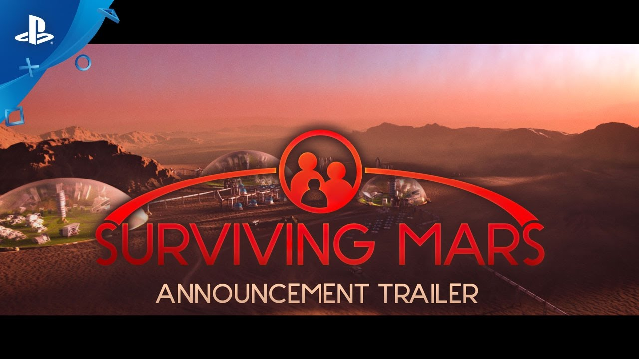 Build a New Home for Humanity in Surviving Mars, Coming to PS4