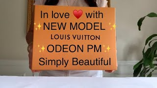 Unboxing New Model Louis Vuitton Odeon PM (Fall-Winter 2020) Chanel LV