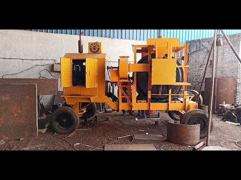 Diesel Engine Mini Hot Mix Plant