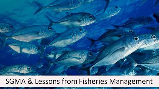 The Sustainable Groundwater Management Act: What can we learn from the management of fisheries?
