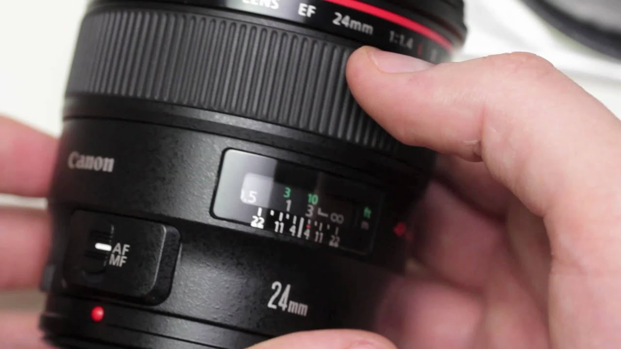 Canon EF 24mm f/1.4L Unboxing & Overview - In HD! thumbnail
