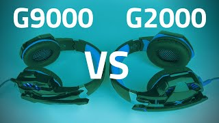 G2000 vs G9000 Gaming Headset - Review, Mic Test, and Comparison