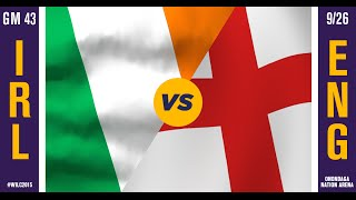 WILC 2015: Game 43 - Ireland vs. England  (5TH PLACE)