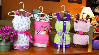 Dress Diaper Cake (How To Make)