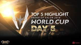 AWC 2018 Top5 Highlight | Day5