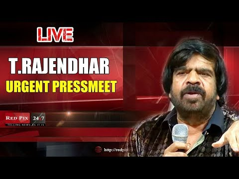 News tamil TR urgent press meet live , T rajendar press meet live tamil live news, tamil news redpix