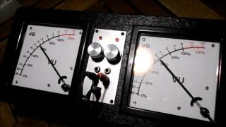 """""""Steady as the rain"""" - and some VU-meters"""