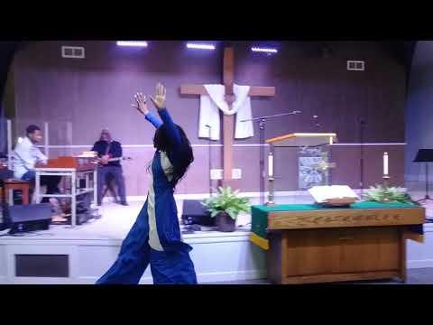 This is a move by Tasha Cobbs, Danced by Charlene Rush