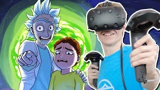 RICK AND MORTY VR SIMULATOR!  | Rick and Morty: Virtual Rick-ality (HTC Vive Gameplay)