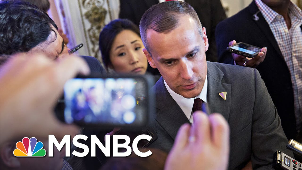Details of Corey Lewandowski's Ousting From Donald Trump's Campaign | MSNBC thumbnail