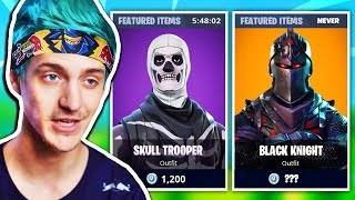 Ninja Explains Why BLACK KNIGHT SKIN is the RAREST SKIN in The Game   Fortnite Daily