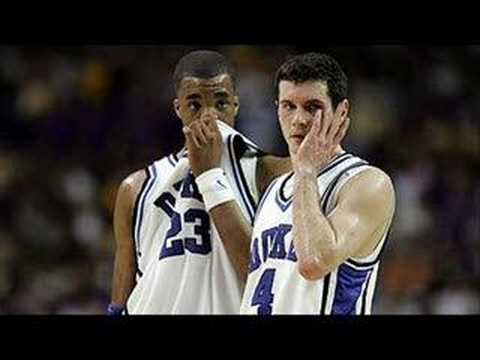 "Video: Duke Senior Night 2006, ""A Bad Day"""