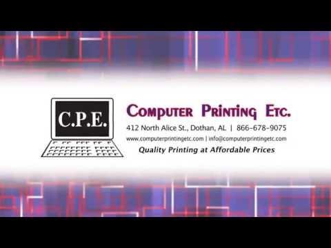 Computer Printing Etc.