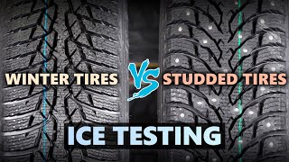 Winter Tires VS Studded Tires ❄ What's better on ICE?