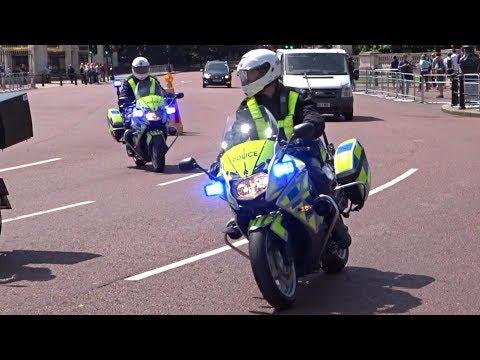 , title : '2 Armed Police Bikes Responding - Metropolitan Police DPG'