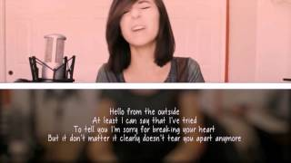 "Christina Grimmie - ""Hello"" [Lyric Video]"