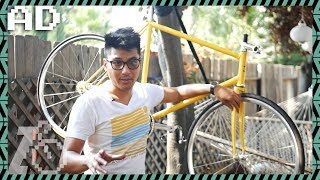 Building A Fixed Gear Bike From Start To Finish (Sponsored By Wabi Cycles)