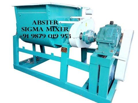 Sigma Kneader Mixer