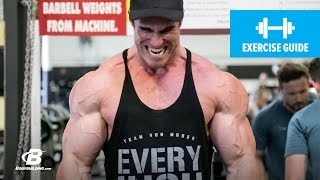 Super Pump Finishers with Calum von Moger by Bodybuilding.com