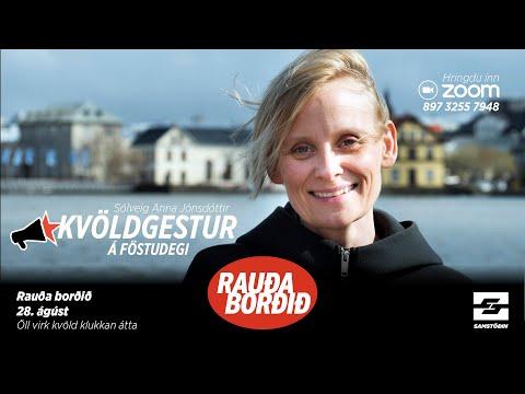 Rauða borðið: Sólveig Anna Jónsdóttir