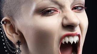 Turn Teeth into Sharp Fangs in Photoshop