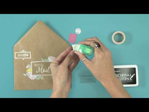 Create DIY Happy Mail With Envelope Liners! | Sizzix