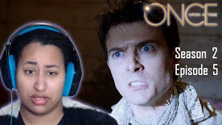 """Once Upon A Time 2x5 """"The Doctor"""" REACTION"""